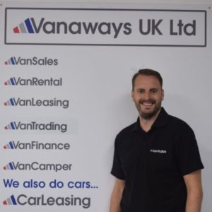 Adam Carter Vanaways UK Ltd Team Member
