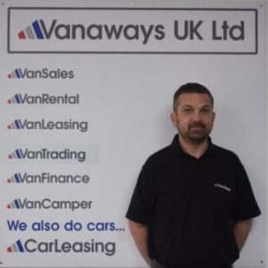 Chris Jakeways Vanaways UK Ltd Team Member