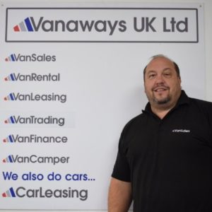 Dean Stone Vanaways UK Ltd Team Member