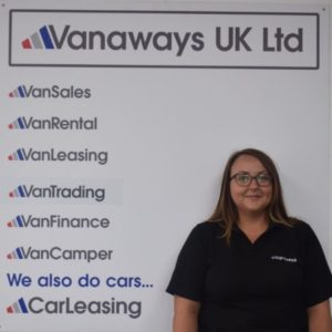 Mollie Hembrough Vanaways UK Ltd Team Member